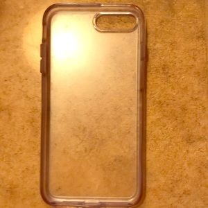 Clear Otterbox Case IPhone 6 Plus (used)